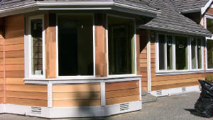 1/2x8 clear old growth bevel siding--- -Spruce and Cedar trims ---click to enlarge